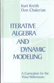 Cover of: Iterative Algebra and Dynamic Modeling