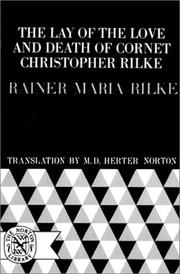 Cover of: The lay of the love and death of Cornet Christopher Rilke