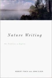 Cover of: Nature writing