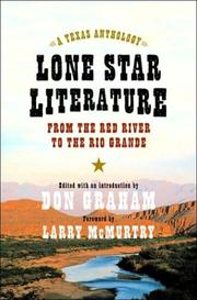 Cover of: Lone Star Literature: From the Red River to the Rio Grande: A Texas Anthology