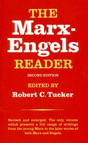 Cover of: The Marx-Engels Reader