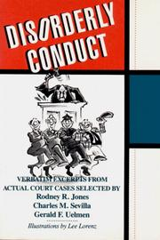Cover of: Disorderly Conduct