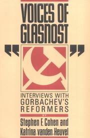Cover of: Voices of Glasnost