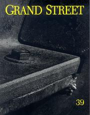 Cover of: Grand Street, 39 (Grand Street)