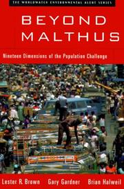 Cover of: Beyond Malthus