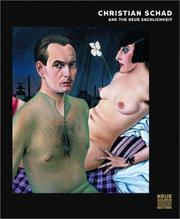 Cover of: Christian Schad and the Neue Sachlichkeit