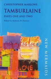 Cover of: Tamburlaine, Parts One and Two
