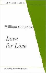 Cover of: Love for Love