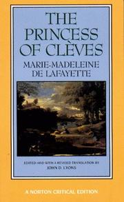 Cover of: The Princess of Cleves