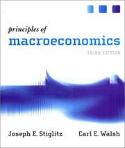 Cover of: Principles of Macroeconomics, Third Edition