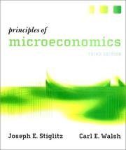 Cover of: Principles of Microeconomics, Third Edition