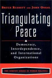 Cover of: Triangulating peace