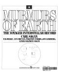 Cover of: Murmurs of Earth