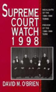 Cover of: Supreme Court Watch 1998