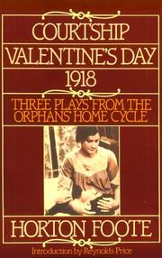Cover of: Courtship, Valentine's Day, 1918