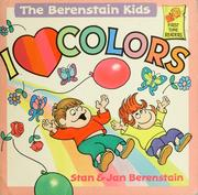Cover of: I Love Colors
