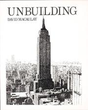 Cover of: Unbuilding