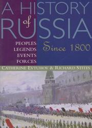 Cover of: History Of Russia: Peoples, Legends, Events, Forces