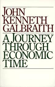 Cover of: A Journey Through Economic Time