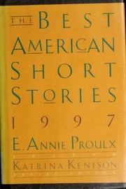 Cover of: The Best American Short Stories 1997