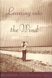 Cover of: Leaning into the Wind: Women Write from the Heart of the West