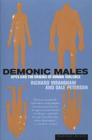 Cover of: Demonic Males