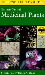 Cover of: A Field Guide to Medicinal Plants