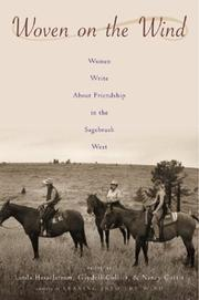 Cover of: Woven on the Wind: Woman Write About Friendship in the Sagebrush West