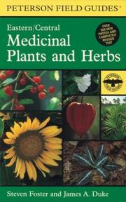 Cover of: A Field Guide to Medicinal Plants and Herbs