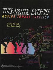 Cover of: Therapeutic Exercise