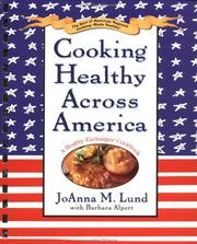 Cover of: Cooking Healthy Across America