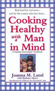 Cover of: Cooking Healthy with a Man in Mind (Healthy Exchanges Cookbook)