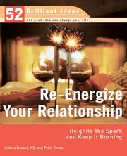 Cover of: Re-Energize Your Relationship (52 Brilliant Ideas): Reignite the Spark and Keep It Burning (52 BRILLIANT IDEAS)