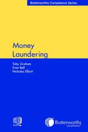 Cover of: Money Laundering (Butterworth's Compliance Series)