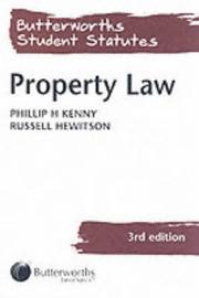 Cover of: Property Law (Butterworths Student Statutes Series)