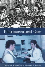 Cover of: Pharmaceutical Care