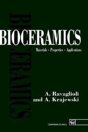 Cover of: Bioceramics: Materials. Properties. Applications