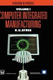 Cover of: Computer Integrated Manufacturing