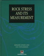 Cover of: Rock Stress and its Measurement