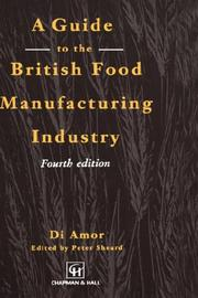 Cover of: Guide to the British Food Manufacturing Industry