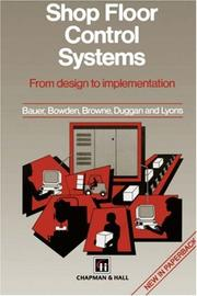 Cover of: Shop Floor Control Systems