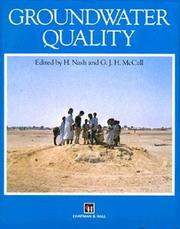 Cover of: Groundwater Quality