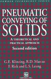 Cover of: Pneumatic Conveying of Solids