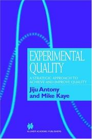 Cover of: Experimental Quality