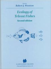 Cover of: Ecology of Teleost Fishes - Second Edition Volume 24