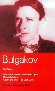 Cover of: Bulgakov: Six Plays (Methuen World Classics)