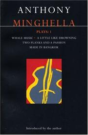 Cover of: Minghella Plays 1 (Methuen World Dramatists)