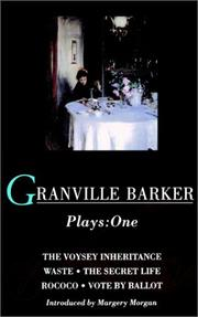 Cover of: Granville Barker Plays