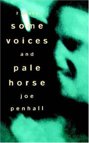 Cover of: Some Voices & Pale Horse (Methuen Modern Plays Series)