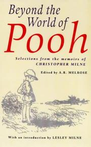 Cover of: Beyond the World of Pooh